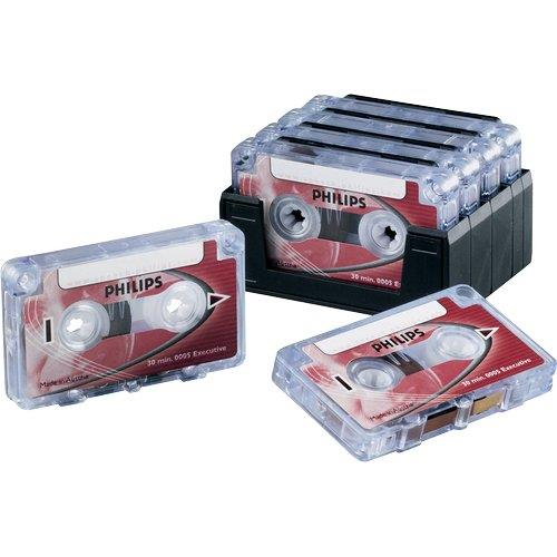 Foto Mini cassette Philips - 30 minuti rosso - conf. 10 Accessori registratori vocali