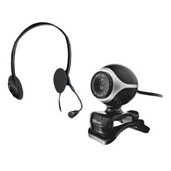 Set per Chat Exis Trust - webcam + cuffie/microfono