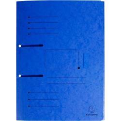 Foto Cartelle 3 lembi Punchy Exacompta-230 g/mq-24x32 cm-blu-447002E-25pz Cartelline in cartoncino