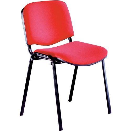 Foto Sedia attesa Dado Unisit- ignifugo - rosso - D500/4/A13-D5S/4/IR 4pz Sedie pieghevoli, sgabelli e per sala d'attesa