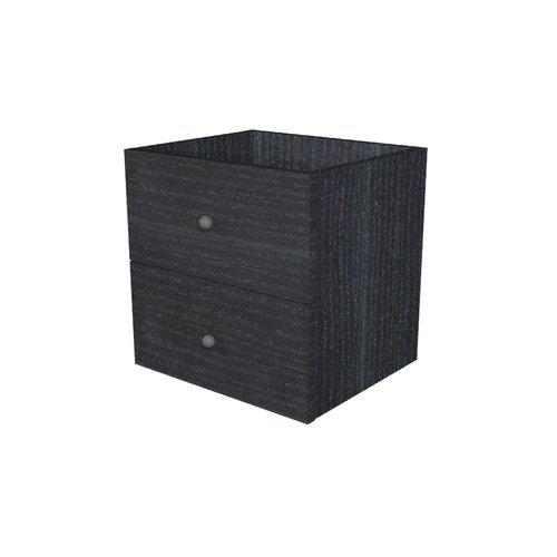 Foto Cassetti per libreria Maxicube - 2 cassetti - 32,5x28,8x32,5 cm - nero Librerie componibili