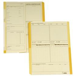 Cartelline matricolari impiegati 4company - semplici - 32,5x25,5 cm - avorio - conf. 50