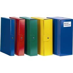 Scatole portaprogetti Delso Order Esselte - dorso 10 - 25x35 cm - blu