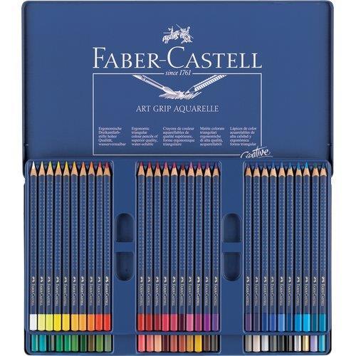Foto Matita Art Grip Creative Studio Faber Castell - assortiti - conf. 60 Colori per disegno