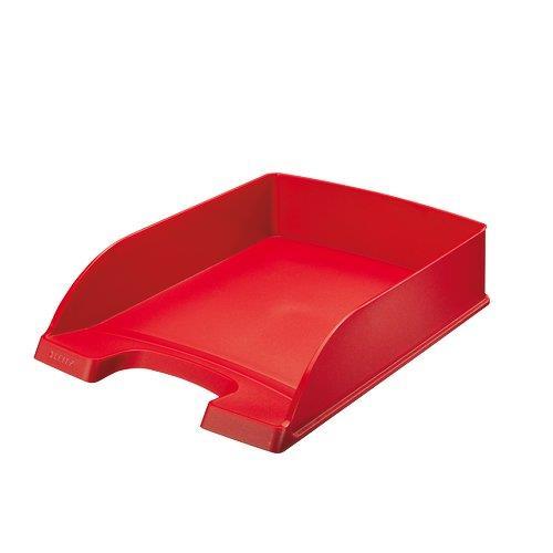 Foto Vaschette portacorrispondenza Leitz Plus Standard Leitz-rosso-conf. 5
