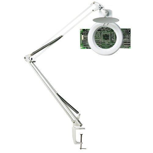 Foto Lampada fluorescente Zoom Unilux - 22 W - bianco Lampade da tavolo