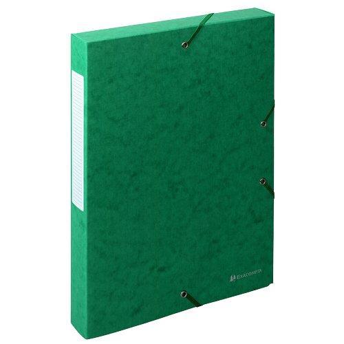 Foto Cartella archivio box Nature Future Exacompta-4 cm-verde 10pz Scatole portaprogetti in cartone