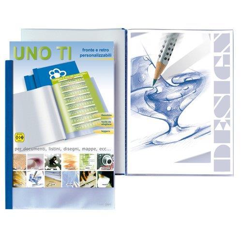 Foto Album personalizzabili Uno TI Sei Rota 50x70 cm 18 buste Portalistini personalizzabili