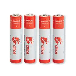 Image of 5 Star Office Batteries AAA [Pack 4] [Pack 4]