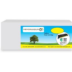 Memorandum Compatible Lexmark C544X1YG Yellow Toner