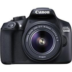 Canon EOS 1300D Digital SLR Camera Kit 18MP Full HD Ref CAN2667