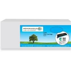 Memorandum Compatible Premium OKI Cartridge C9600/C9800 Cyan 42918915