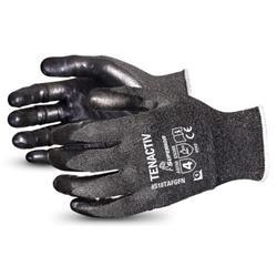 Superior Glove Tenactiv Filament Level-5 Cut-Resistant Black 8 Ref SUS18TAFGFN08