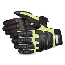 Superior Glove Clutch Gear Impact Protection Mechanics Yellow M Ref SUMXVSBM