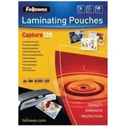 Fellowes Laminating Pouches 125 Micron for A5 Ref 5307301 - Pack 100