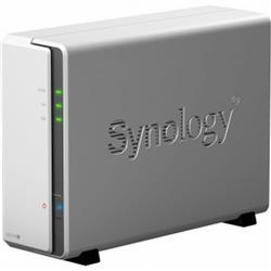 Synology DiskStation DS115j 2TB (1 x 2TB WD Red) 1 Bay Desktop NAS Ref DS115J2TBWD
