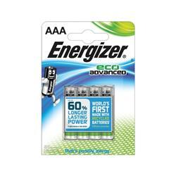 Energizer Eco Advance Batteries AAA / E92 Ref E300128100 (Pack 4)