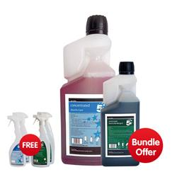 5 Star Dosing Disinfectant 1 Litre  - Bundle Offer & FREE 4x Trigger Spray Bottles