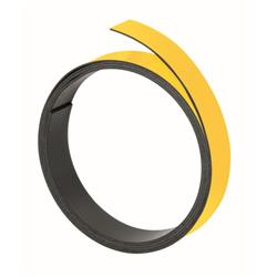 Franken Magneticic Strips 100cm x 10mm Thickness 1mm Yellow Ref M802 04