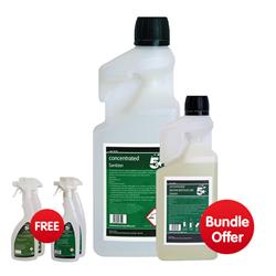 5 Star Concentrated Food Safe Cleaner 1 Litre  - Bundle Offer & FREE 4x Trigger Spray Bottles