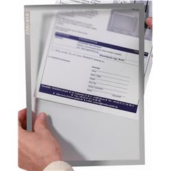 Franken Document holder X-tra!Line A4 Magnetic Grey 1 Piece Ref ITSA4M 12