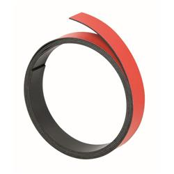 Franken Magneticic Strips 100cm x 10mm Thickness 1mm Red Ref M802 01
