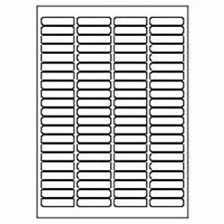 5 Star Value Labels Laser 84 per Sheet 46x11.1mm White [8400 Labels]