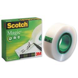 Scotch Magic Tape 19mmx33m Matt Ref 8101933 - 3 for 2
