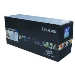 Lexmark C770 High Yield Toner Cartridge Cyan Ref C7702CH