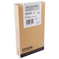 Epson Stylus Pro 7800/9800 High Yield Light Light Black Inkjet Cartridge Ref C13T603900