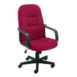 Jemini High Back Manager Chair Claret Ref KF50179