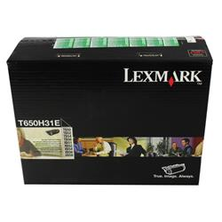 Lexmark T65X Corporate Toner Cartridge 25K Black Ref T650H31E