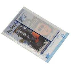 Postsafe Extra-Strong Polythene Envelope C3 440x320mm Clear Pack of 100 Ref P30
