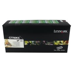 Lexmark C770 Return Programme Toner Cartridge Black Ref C7700KS