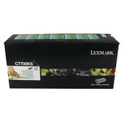 Lexmark C770 Return Programme Toner Cartridge Black Ref C7700KS