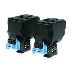 Epson Toner Cartridge Standard Capacity Twin Pack Black Ref C13S050594