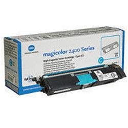 Konica Minolta Magicolor 2430Dl/2400W/2500W Toner Cartridge High Capacity Cyan Ref 1710589-007