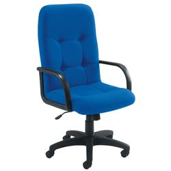 Arista High Back Manager Chair Royal Blue Ref KF50113