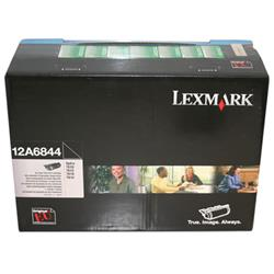 Lexmark Optra T High Yield Return Programme Corporate Cartridge Black Ref 12A6844