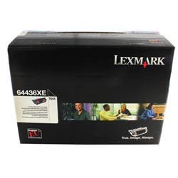 Lexmark T64 Extra High Yield Laser Toner Cartridge Black Ref 64436XE