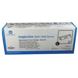 Konica Minolta Magicolor 2430Dl/2400W/2500W Toner Cartridge High Capacity Black Ref 1710589-004