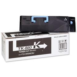 Kyocera FS-C8500DN Toner Cartridge 25K Black Ref TK-880K