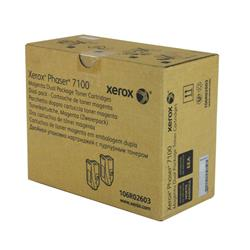 Xerox Phaser 7100 Toner Cartridge High Yield Magenta Pk 2 Ref 106R02603