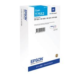 Epson Cyan T7552 XL Ink Cartridge for WF-8000 Series Ref C13T755240