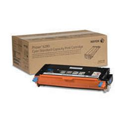 Xerox Phaser 6280 Toner Cartridge Standard Capacity 2200 Pages Cyan Ref 106R01388