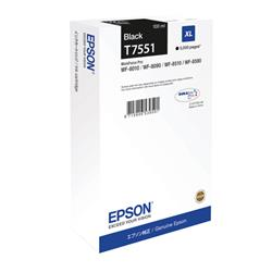 Epson Black T7551 XL Ink Cartridge for WF-8000 Series Ref C13T755140