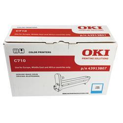 Oki C710 Image Drum Cyan Ref 43913807 Ref 43913807