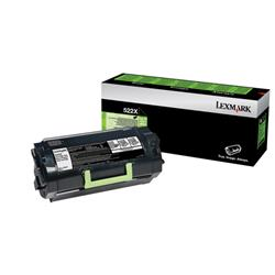 Lexmark 522X Toner Cartridge Extra High Yield Black Ref 52D2X00
