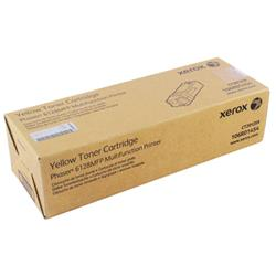Xerox Phaser 6128Mfp Toner Cartridge Standard Capacity 2.5K Pages Yellow Ref 106R01454