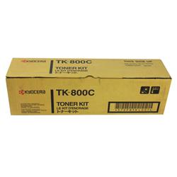 Kyocera FS-C8008N Toner Cartridge 10000 Pages Cyan Ref TK-800C